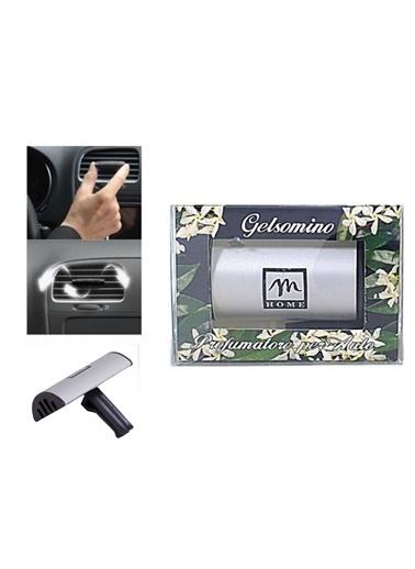 Bosphorus 5 X 7 X 2 Cm Klipsli Kötü Koku Önleyici Yasemin Çiçeği Aromalı Italyan Araba Kokusu Gümüş